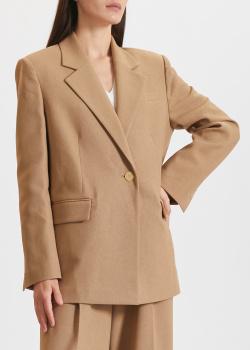 Бежевый пиджак Miss Sixty на одну пуговицу, фото