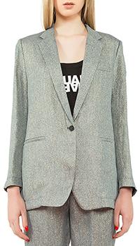 Пиджак Forte Forte из серого льна, фото