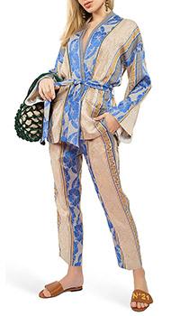 Брючный костюм Forte Forte с цветочным узором, фото