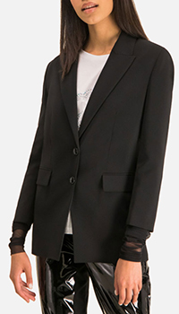 Пиджак Patrizia Pepe черного цвета, фото