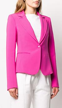 Розовый пиджак Patrizia Pepe с длинным рукавом, фото