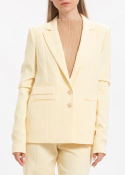Пиджак Patrizia Pepe лимонного цвета, фото