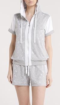 Костюм с шортами Liu Jo с принтом из страз, фото
