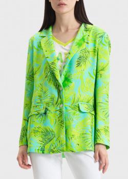 Яркий пиджак Sportalm с растительным принтом, фото