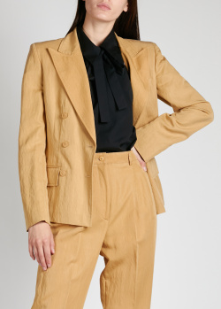 Двубортный пиджак Alberta Ferretti с широкими лацканами, фото
