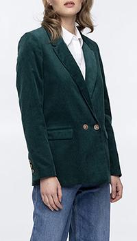 Вельветовый пиджак Trench & Coat в мелкий рубчик, фото