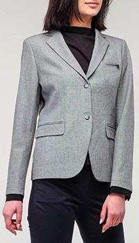 Классический пиджак Bogner Leonora серого цвета, фото