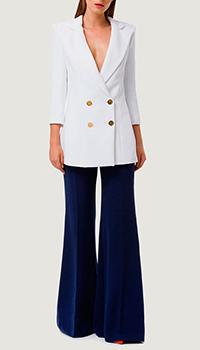 Пиджак Elisabetta Franchi белого цвета, фото