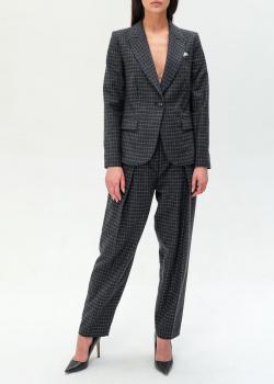 Шерстяной костюм Emporio Armani темно-серого цвета, фото