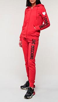 Спортивный костюм Love Moschino с логотипом, фото
