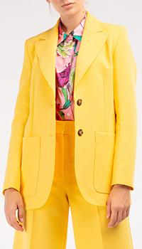 Пиджак MSGM желтого цвета, фото