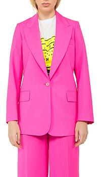 Пиджак MSGM из шерсти розового цвета, фото