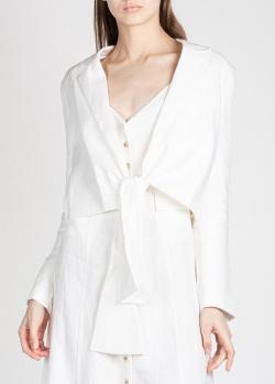 Льняной жакет Mara Hoffman белого цвета, фото