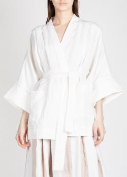 Жакет-кимоно Mara Hoffman белого цвета, фото