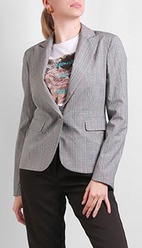Серый пиджак Silvian Heach на одну пуговицу, фото
