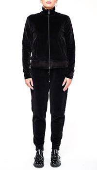 Женский спортивный костюм Philipp Plein черного цвета, фото