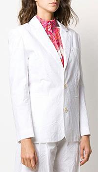 Женский пиджак Lanvin белого цвета, фото