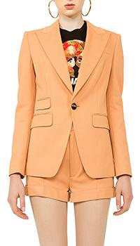 Оранжевый костюм Dsquared2  с шортами, фото