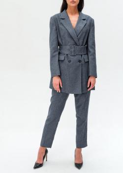Брючный костюм Trussardi с шевронным узором, фото