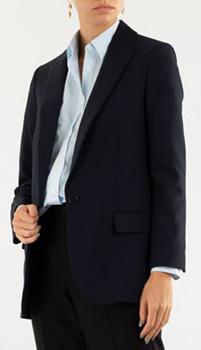 Синий пиджак Zadig & Voltaire с изображением из страз, фото