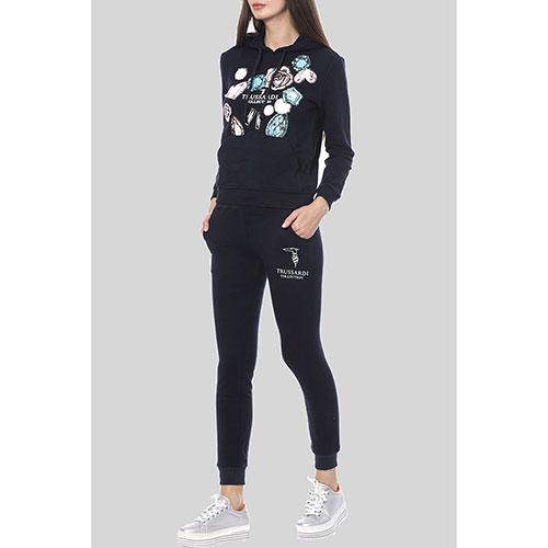 Спортивный костюм Trussardi Collection темно-синего цвета, фото
