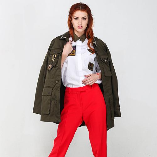 Пиджак Twin-Set цвета хаки, фото
