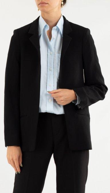 Черный пиджак Zadig & Voltaire прямого кроя, фото