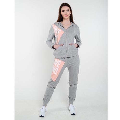 Спортивный костюм Love Moschino серого цвета, фото