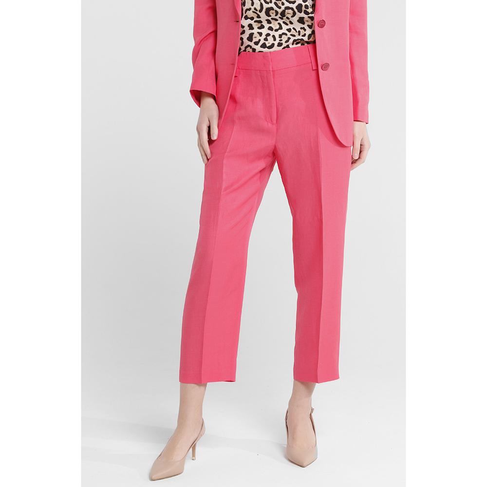 Коралловый костюм Seventy с укороченными брюками