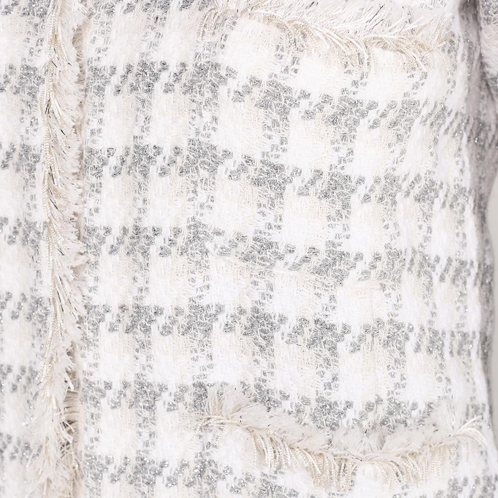 Жакет Seventy белого цвета с длинным рукавом