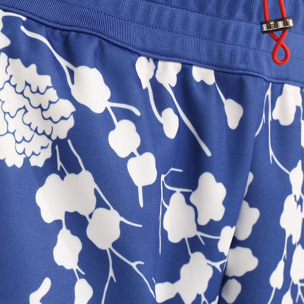 Синий спортивный костюм Pinko с укороченным верхом