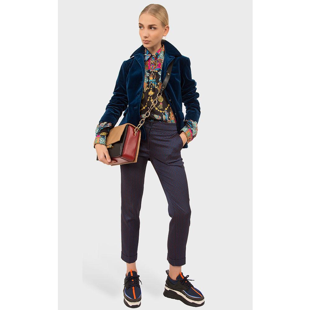 Пиджак Etro синего цвета на пуговицах