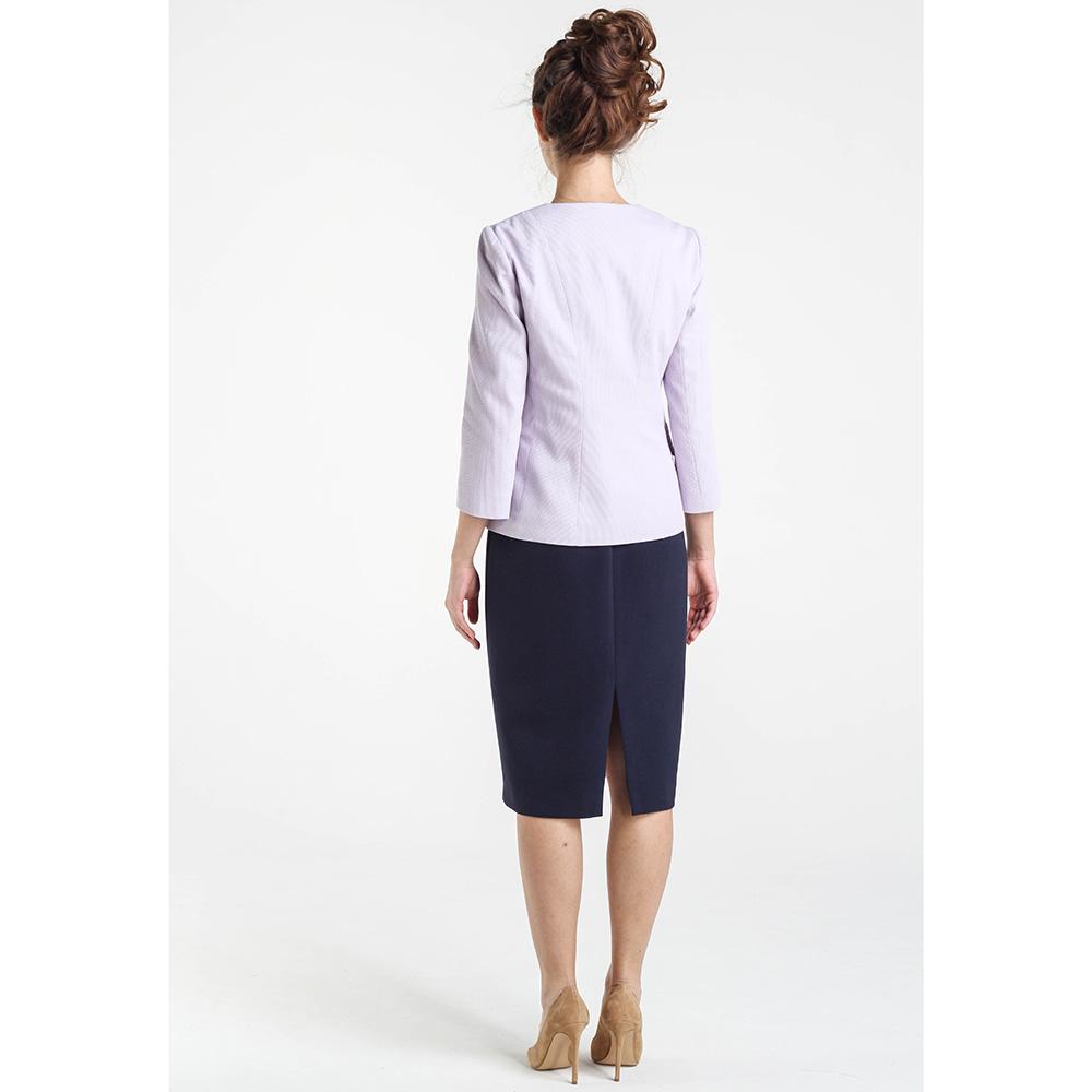 Пиджак сиреневого цвета Shako с укороченным рукавом