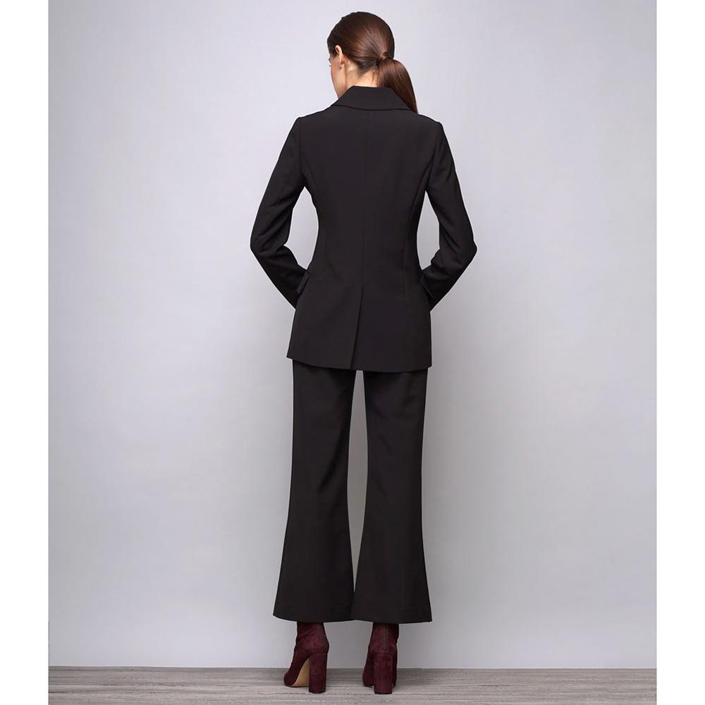 Пиджак черного цвета Shako с длинным рукавом
