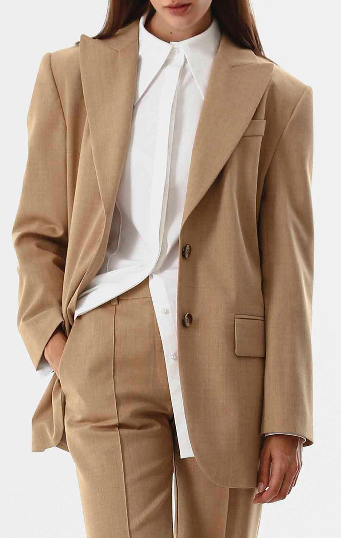 Шерстяной пиджак Shako на двух пуговицах