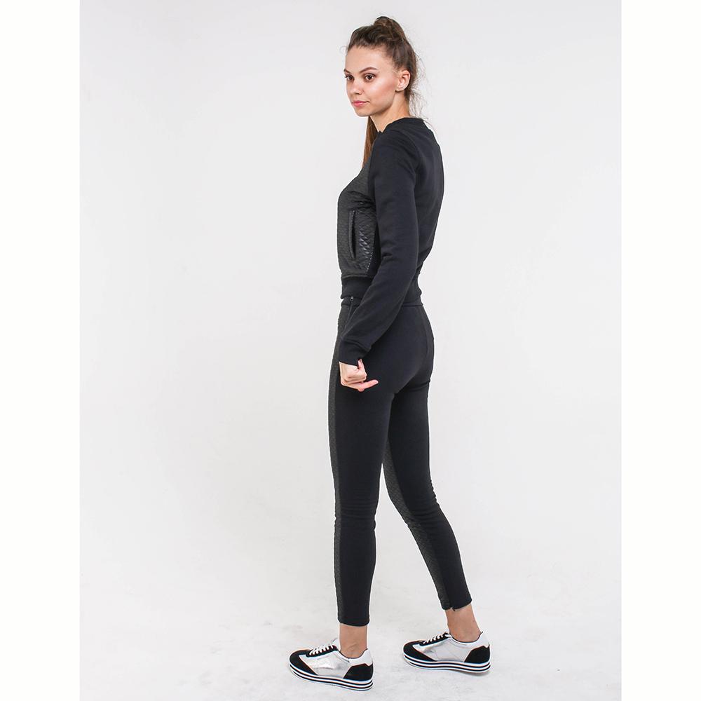 Спортивный костюм Love Moschino черного цвета