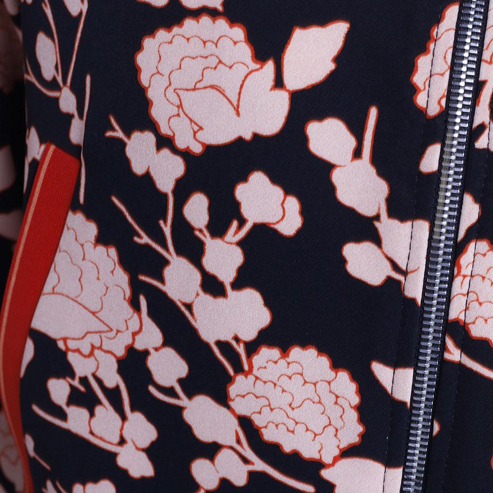 Костюм Pinko с цветочным принтом и брюками кюлотами