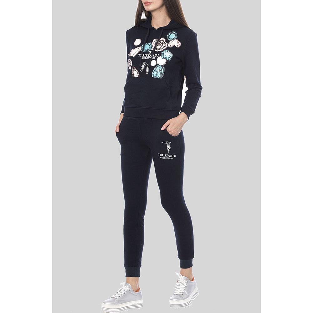 Спортивный костюм Trussardi Collection темно-синего цвета