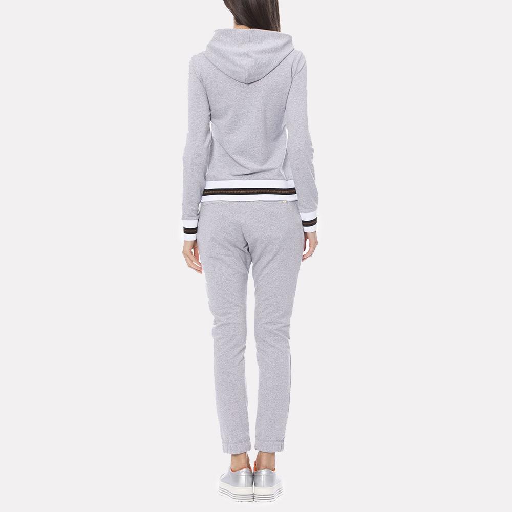 Спортивный костюм Francesca E.Versace светло-серого цвета