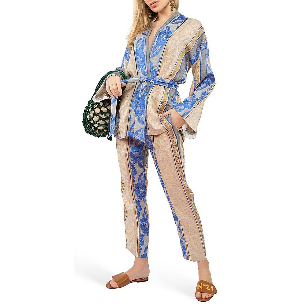 Брючный костюм Forte Forte с цветочным узором