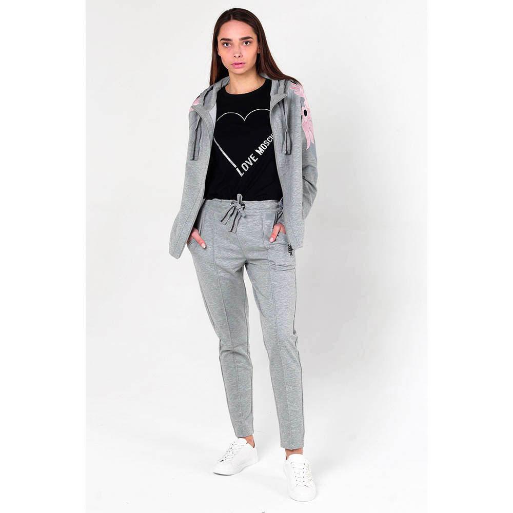 Серый спортивный костюм Bogner с вышивкой