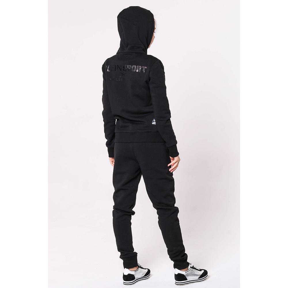 afa5215ecee9 ☆ Черный спортивный костюм Philipp Plein с фирменным принтом купить ...