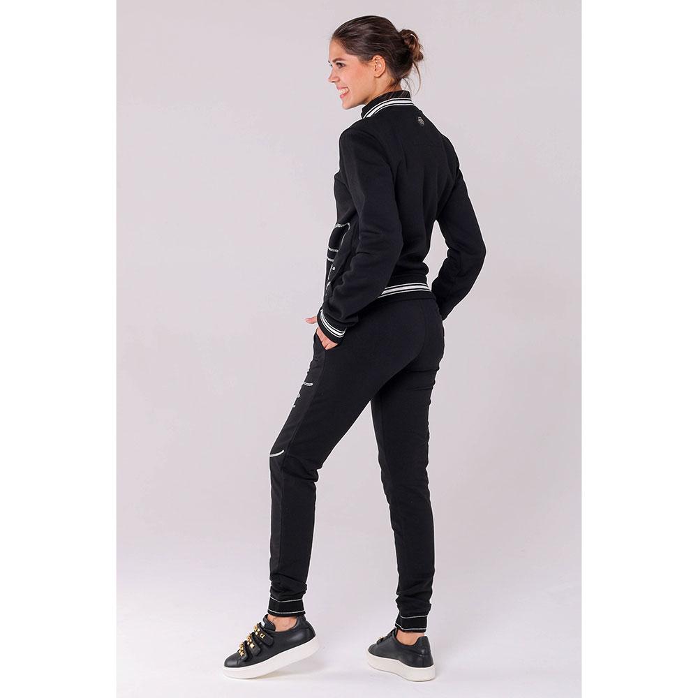 Черный спортивный костюм Philipp Plein с декором-стразами