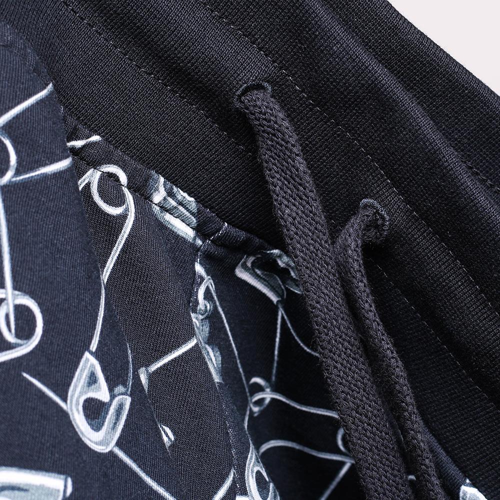 Спортивный костюм Love Moschino черного цвета с принтом