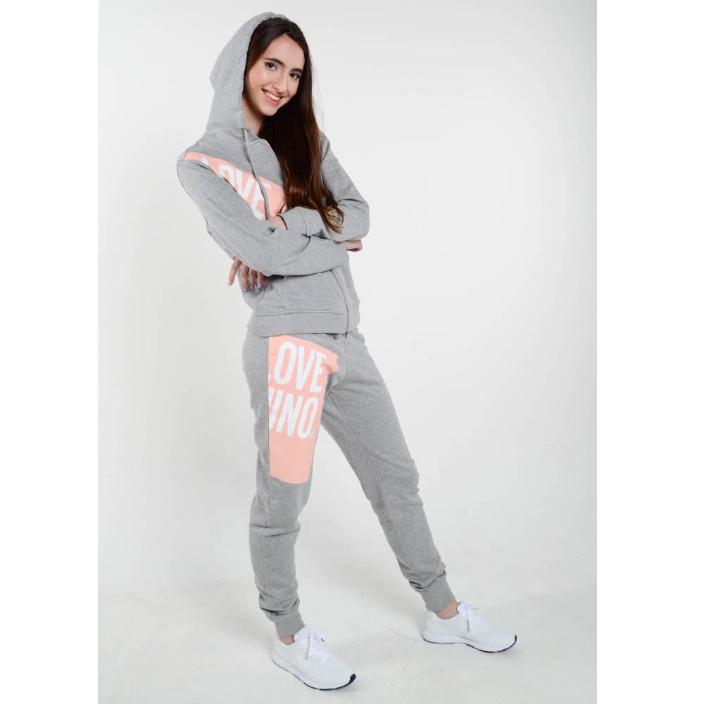 Спортивный костюм Love Moschino серого цвета
