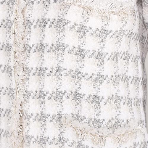 Жакет Seventy белого цвета с длинным рукавом, фото