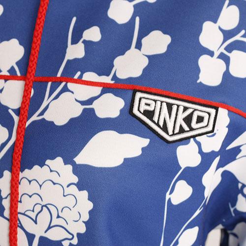 Синий спортивный костюм Pinko с укороченным верхом, фото