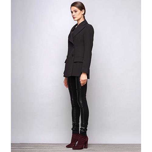 Пиджак черного цвета Shako с длинным рукавом, фото