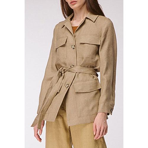 Пиджак оверсайз Shako цвета мокрого песка, фото