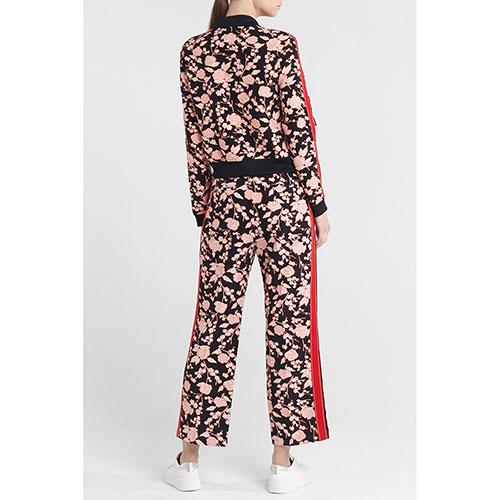 Костюм Pinko с цветочным принтом и брюками кюлотами, фото